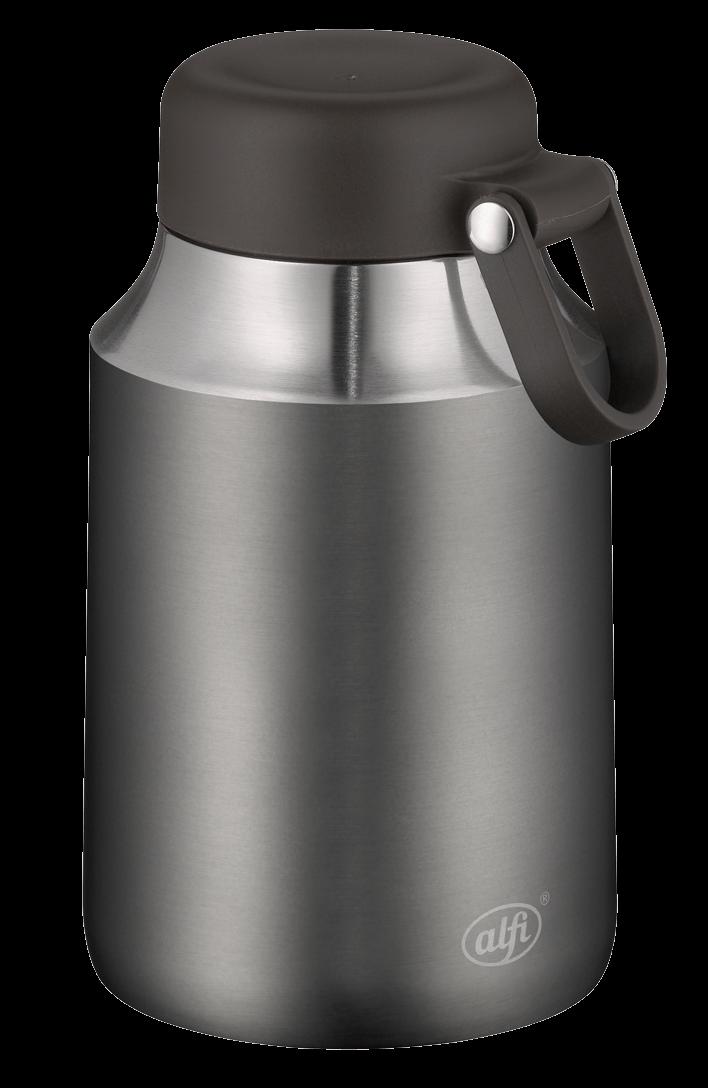 alfi city line food mug cool grey