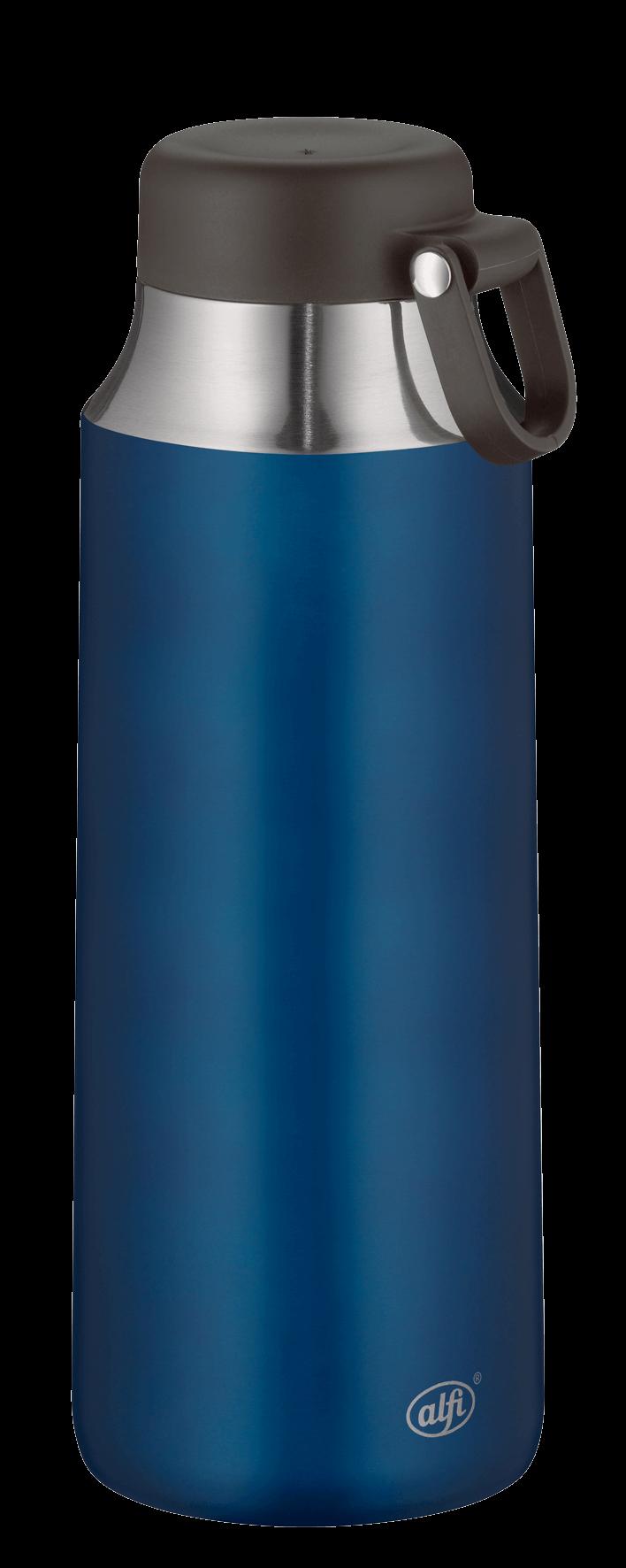 city bottle tea blue