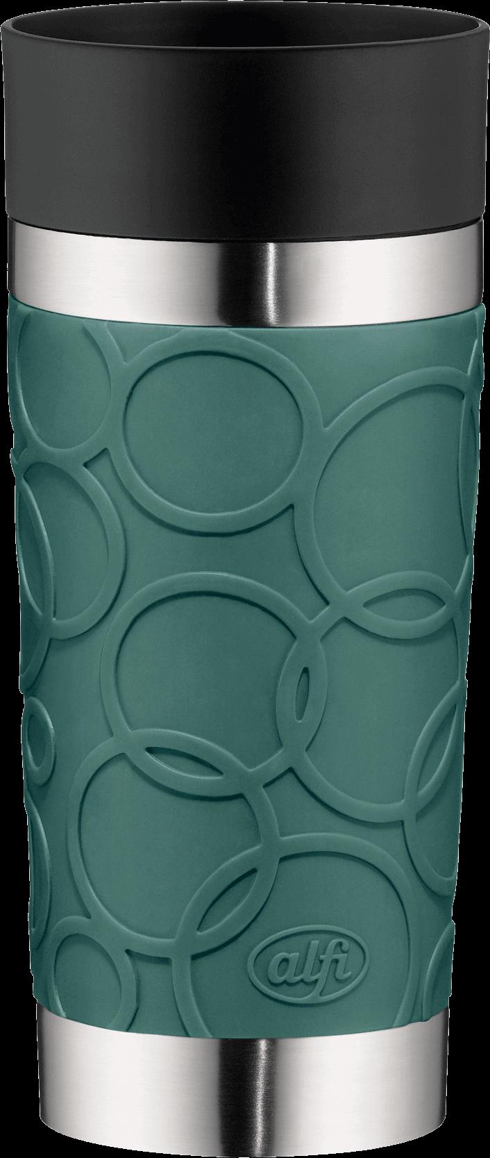 Alfi-Isomug-Plus-Soft-Trinkbecher-Edelstahl-Sea-Pine-350ml
